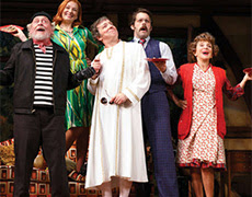 Tony Award-winning hit comedy Noises Off opens Friday at the Miracle Theatre!